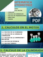 MATEMATICA AUTOMOTRIZ_ CALCULO EN EL MOTOR