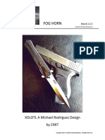 XOLOTL A Michael Rodriguez Design  by CRKT