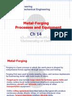 ch14  Metal Forging pocess