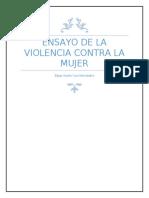 EnsaYo de la violencia contra la mujer