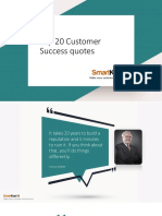Top 20 Customer Success Quotes