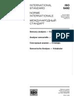 ISO 5492-2008 Vocabulary