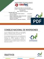 CONSEJO NACIONAL DE INVERSIONES