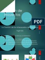 Gestión de Proyectos-Interesados