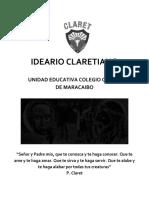IDEARIO DEL COLEGIO CLARET MARACAIBO