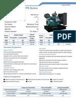 WP6 G-drive engine spec sheet