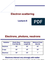 Transmission Electron Microscopy Skills:Electron scattering Lecture 8