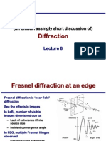 Transmission Electron Microscopy Skills:Diffraction Lecture 9