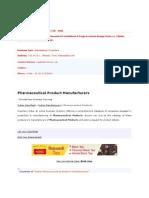 Biostar Pharmaceuticals Pvt
