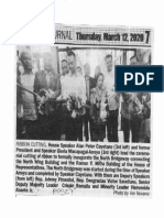 Peoples Journal, Mar. 12, 2020, Ribbon Cutting House Speaker Alan Peter Cayetano and former President and Speaker Gloria Macapagal-Arroyo.pdf