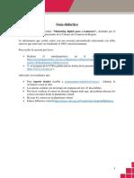 Guía didáctica marketing digital para e- commers