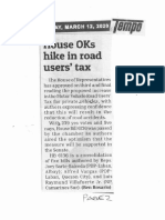 Tempo, Mar. 12, 2020, House OKs hike in road users tax.pdf