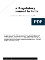 session 5-6 Bank Regulatory Environment in India – Relevant provisions of the Banking Regulation Act, 1949