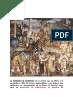 conquista y colonizacion de guatemala