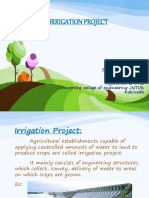 planning of irrigation project