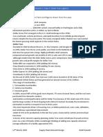 Case Report- Dollar Tree Logistics