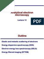 Transmission Electron Microscopy Skills:Analytical electron microscopy Lecture 12