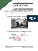 Diseño de secadores rotatorios
