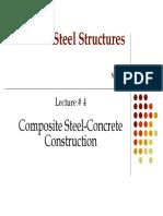 M.Sc. Steel -4 Composite Steel-Concrete Design