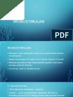 PPT Imunostimulan