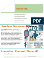 DiabeteK _ PPT assignment for bioentrepreneur.pptx