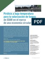 Articulo Tecnico Pirolisis Baja Temperatura Valorizacion Fangos Depuradora Economia Circular Tecnoaqua Es