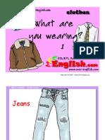 flash cards για τα ρούχα 2