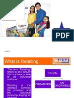 Big Bazaar Marketing Mix