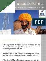 Rural Marketng of Telecom Sector