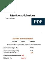 6.Reaction Acidobasique