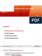 LTE_Paramter Introduction and Audit