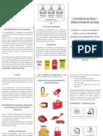 Folheto - Consignações