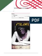 ALFAGUARA JUVENIL. Paloma. Autor_ Jaime Homar. Alfaguara Juvenil, Serie Roja_ Desde 14 años