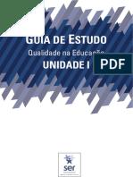Guia de Estudos da Unidade 1 - Qualidade na Educação