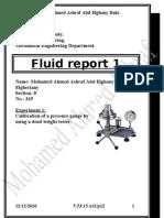 Fluid Report 1