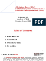mdg and sdg