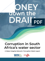 Corruption in water sector 'systemic'