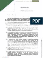Réponse à Anticor - Martine Aubry Municipales 2020