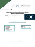 les obstacles a la communication version 3