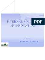 Internal Sources of Innovation