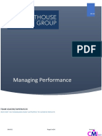 5. Managing Performance