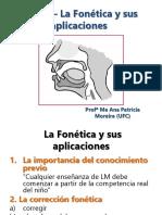 Apresentação Aula 01 La Fonética y sus aplicaciones