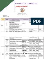 CLASA a II planificarea unitatilor tematice UT 7