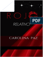 Rojo Relativo - Carolina Paz