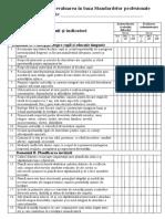 Autoevaluarea și evaluarea în baza Standardelor profesionale