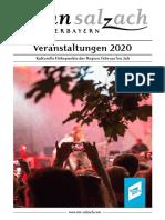 Veranstaltungskalender Inn-Salzach 1. Halbjahr