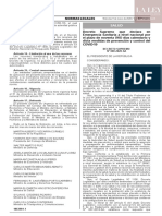 Decreto Supremo N° 008-2020-SA