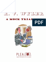 R V Wyler - Mock Trial and Intro Plans