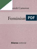 Feminismo - Deborah Cameron