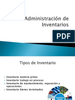 Administracion de inventario